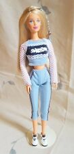 Barbie Doll Blonde Sporty Outfit - Deboxed