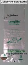 25 - 4 X 11 LongLife® Nano Breather Bags + Kordon Alternative & Usa Seller +