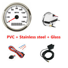 High Quality 9V~32V IP65 85mm GPS Digital Speedometer 0~160MPH Cable for Car