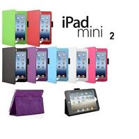 Leather Stand Case for iPad Mini 3 case pack with Screen protector and Stylus