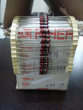 1000pcs NOS PIHER Resistor 1M 1/2 Watt (1970s) (for tube amp diy project...)