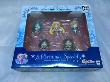 Petit Chara Sailor Moon Christmas Special Outer Solar Figure set of 5 NA Seller