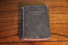 Pocket Sized The New Testament 1924 King James Version Vintage Hardcover Bible
