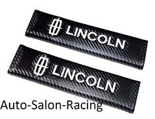 New 2PCS LINCOLN Car Seat Belt Cover Pads Shoulder Cushion For NAVIGATOR MKZ MKT