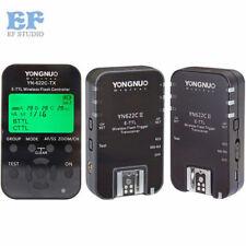 Yongnuo YN-622C-TX Flash Controller + 2pcs YN-622C II TTL Transceiver for Canon