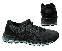 Asics fuzeX Lace Up Black Mint Synthetic Textile Womens Trainers T66VQ 9070 D131