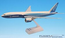 Boeing Demo Freighter 777-200F Airplane Miniature Model Plastic Snap Fit 1:200