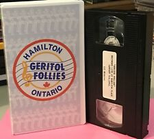 1994 GERITOL FOLLIES VHS TAPE ~ LIVE PERFORMANCE ~ HAMILTON PLACE ~ ONTARIO, CAN