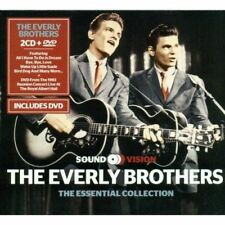 THE EVERLY BROTHERS (ESSENTIAL COLLECTION 2CD/DVD SET SEALED + FREE POST)