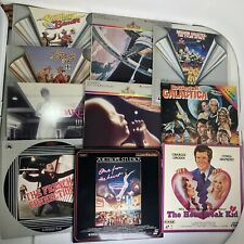 Lot of 10x NM Laser Discs Laserdiscs Movies -Smokey and the Bandit 1-2, 2001 a S
