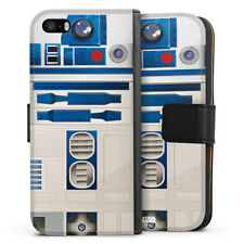 Apple iPhone 5 Tasche Hülle Flip Case - R2D2 Closeup