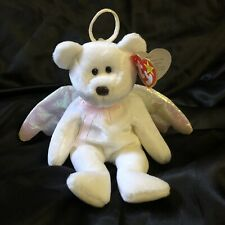 Ty Beanie Baby Original BrearHalo August 31,1998 BrownNose P.E Pellets PinkStamp