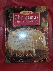 SOUTHERN LIVING magazine 2000 Christmas Family Favorites COOKBOOK HC menu recipe