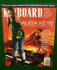 2004 ALICIA KEYS, Yamaha PSR-3000, Cubase SX3, PX-400R Reviews KEYBOARD Magazine