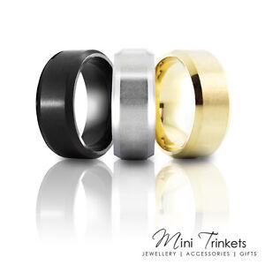 6mm Men's Titanium Brushed Wedding Band Court Ring Gift Present