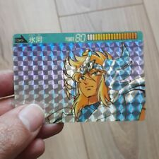 Saint Seiya Cygnus 80 carte prisme Bandaï Japon 1988 RARE