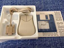 Key Tronic 2 Maus 2 Tasten PC/kompatible Computer 9-Pin serielle Maus beige, NEU
