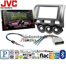 JVC Double Din CD Player Car Radio Install Mount Kit Harness Bluetooth Dual USB