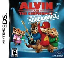 Alvin and The Chipmunks - The Squeakquel NDS 2DS Nintendo DS Video Game UK