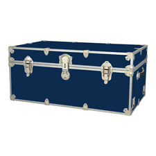 Rhino Storage Trunk Footlocker 34x20x15 for Camp, College & Dorm. USA Made