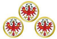 Tyrol, Autriche Marqueurs de Balles de Golf