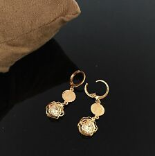 Gold Plated Earrings Hoops Studs Indian Asian Jewelry Wedding Fashion Designer