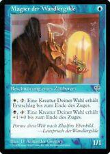 "Magic The Gathering (MtG) Karte ""Magier Wandlergilde"" deutsch selten neuwertig"