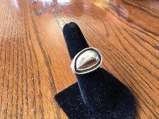 Silpada R 3361 Clean Slate Ring .925 Sterling Silver Tear Drop Shaped Size 7 NIB