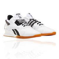 Reebok Mens Legacy Lifter II Training Gym Fitness Shoes Trainers Sneakers White