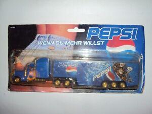 Truck 1:87 Pepsi Cola Kenworth Peterbilt Mack Western Star White Freightliner