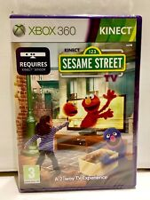 XBOX 360 Kinect 123 Sesame Street TV Game Season 1 Brand New Sealed