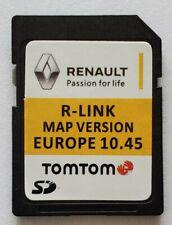 Carte SD GPS Europe 2020 - 10.45 - Renault R-Link