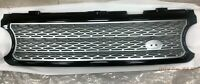 MIT GLOSS BLACK & SILVER GRILL FOR RANGE ROVER L322 SUPERCHARGED MODEL 2006-2009