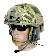 "Ballistic IIIA Bullet Proof High Cut Helmet + DISK + cover ""Multicam"""