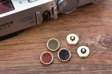 Genuine Leather Soft Shutter Release button for Leica Fujifilm Fuji Sony