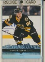 2014-15 Upper Deck Series 2 Young Guns Rookie 495 David Pastrnak Boston Bruins