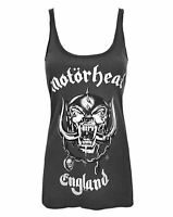 Amplified Motorhead England Charcoal Women's Vest