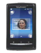 Housse minigel noir glossy Sony Ericsson X10 Mini
