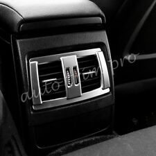 Chrome Rear Seat Air Vent Cover Trim For BMW F20 F22 F30 F31 F32 F33 Accessories