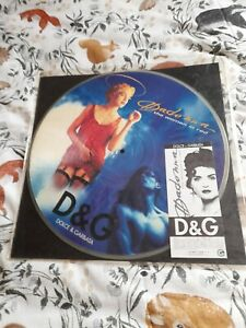 MADONNA: THE WOMAN IN RED, RARE PICTURE DISC!!!! RELISTED DUE TO CANCELLATION..