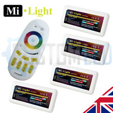 4 x Milight RGB 2.4G 4 Zone WiFi RF led strip Receiver and Controller 5050