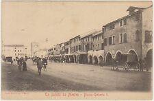 UN SALUTO DA MESTRE - PIAZZA UMBERTO I (VENEZIA) 1917