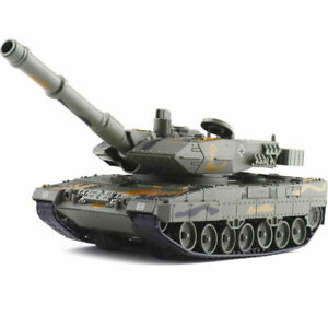 1:40 Diecast Military German Leopard 2A6 Main Battle Tank Model With 30BBs