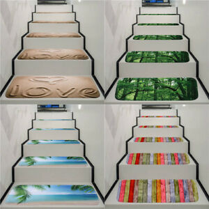 2020 Washable Home Office Antifouling Rubber Bottom Stair Carpet 5pcs Hot