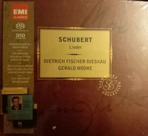 Dietrich FISCHER-DIESKAU/ Gérald MOORE - SCHUBERT Lieder - Coffret 4 SACD neuf