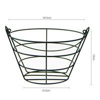 Metal Golf Ball Range Basket Golf Balls Container Storage Bucket Holds Contain