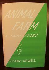 George Orwell Animal Farm 1945 1st UK Edition Second Printing British Lit