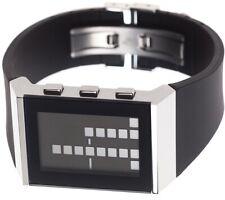 Lexon Armbanduhr E8 WATCH Binäruhr LCD Uhr Herrenuhr Designer Digitaluhr Neu