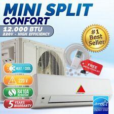 12000 BTU Mini Split  Confort System Ductless AC Heat Pump 220V/60HZ
