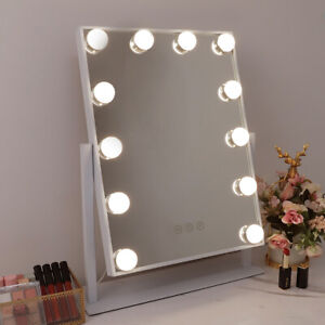 Hollywood Vanity Makeup Mirror Small with Lights Rotatable LED Lighted